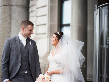 Liver Building Wedding Sneak Peeks