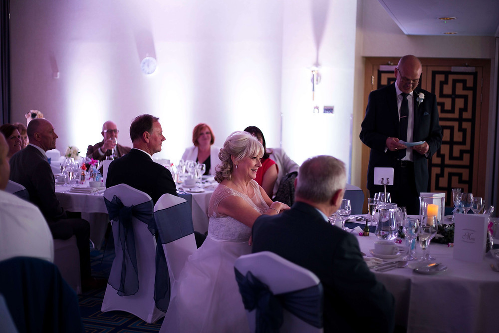 Crowne Plaza Liverpool Airport Wedding reception
