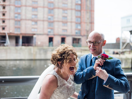 Titanic hotel Liverpool wedding sneak peeks