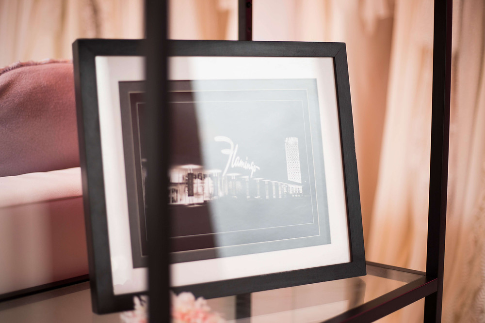 Flamingo Boulevard bridal studio Personal Branding Photography framed photo