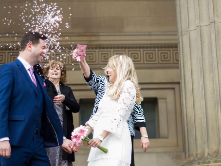 St George's Hall Liverpool Elopement
