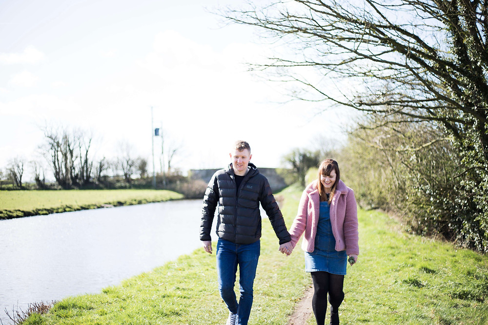 Liverpool Pre wedding shoot by the canal
