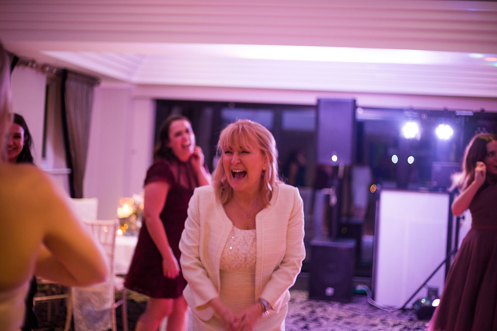 Bride dancing Inglewood manor wedding