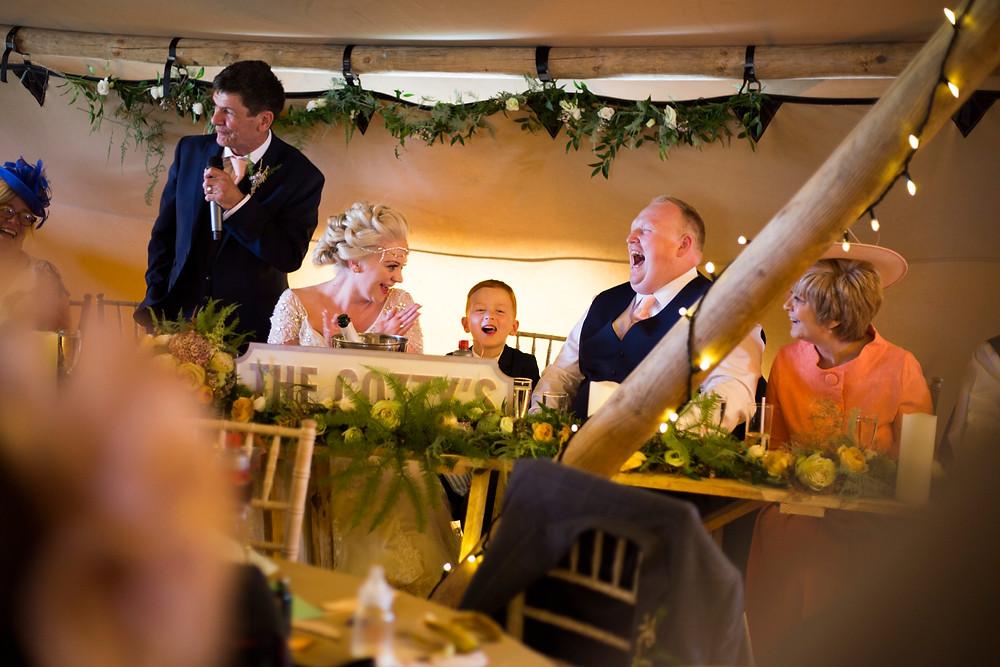 Oaklea Barn Wedding Speeches