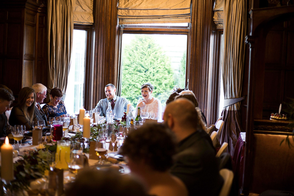 Wedding breakfast at Thornton Hall Hotel