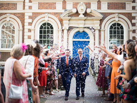 Colourful Bluecoat wedding sneak peeks