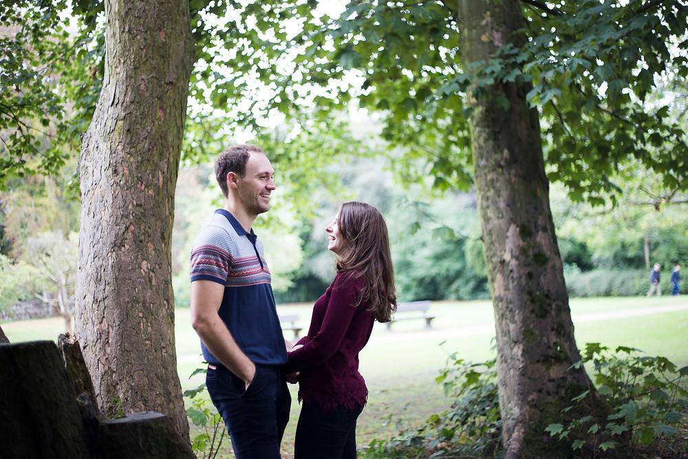 Liverpool pre wedding shoot Calderstones park