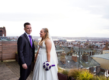 Lucy goes the extra mile  Hope Street Hotel wedding