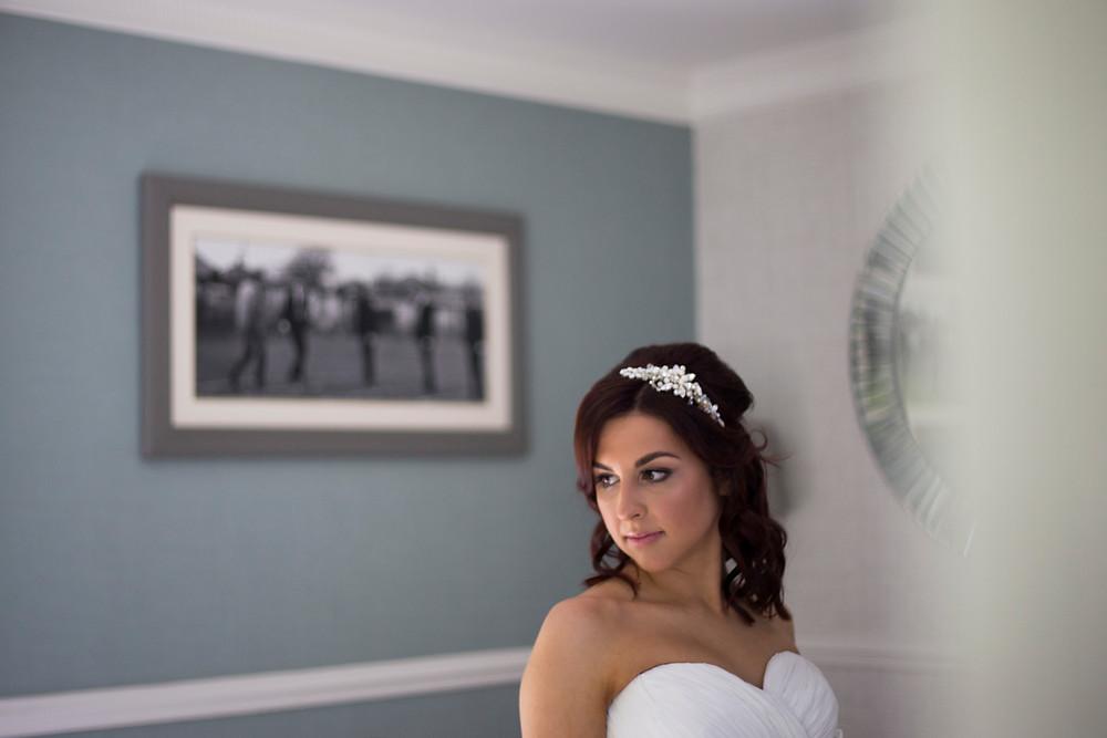 Bride at Sefton Park wedding Hallmark Hotel