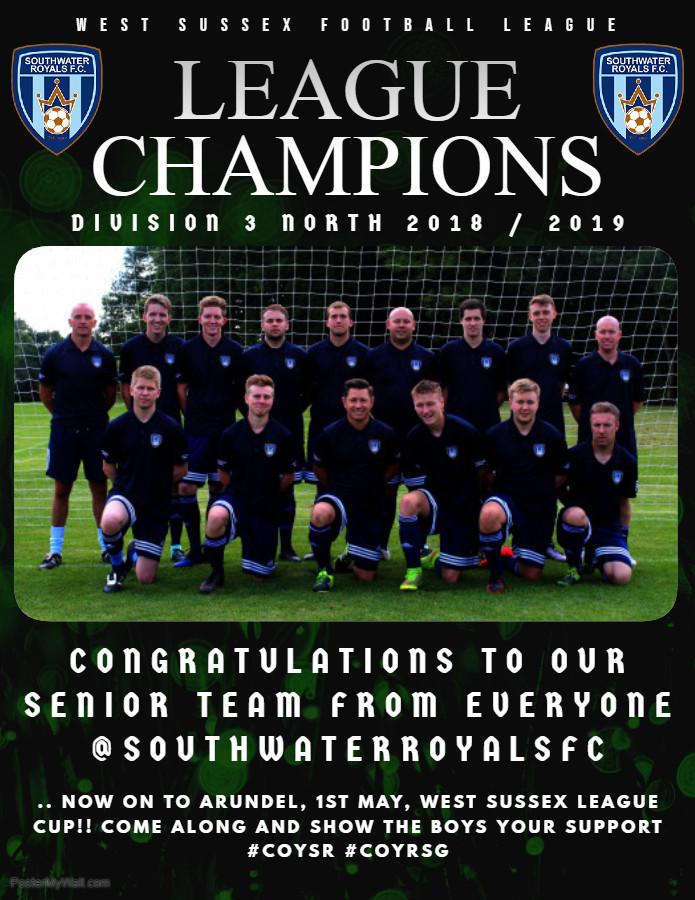 2018 - 2019 League Champions