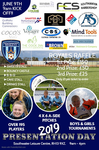Southwater Royals Presentation Day 2019