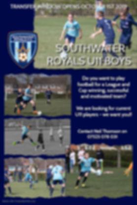 Southwater Royals Recruitment U11 Boys -