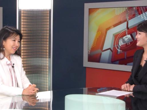 """受法国华人电视台采访:《""""后疫情时期""""新生活模式》专题系列节目"""