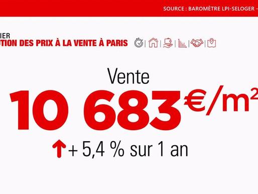 巴黎楼市快报:2020年房价、租金走势,顶级房产交易情况
