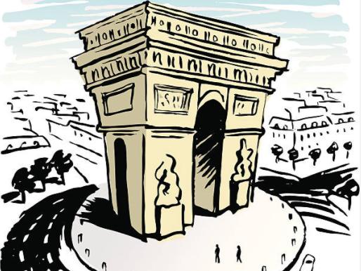 解读巴黎·辉煌的凯旋门区域