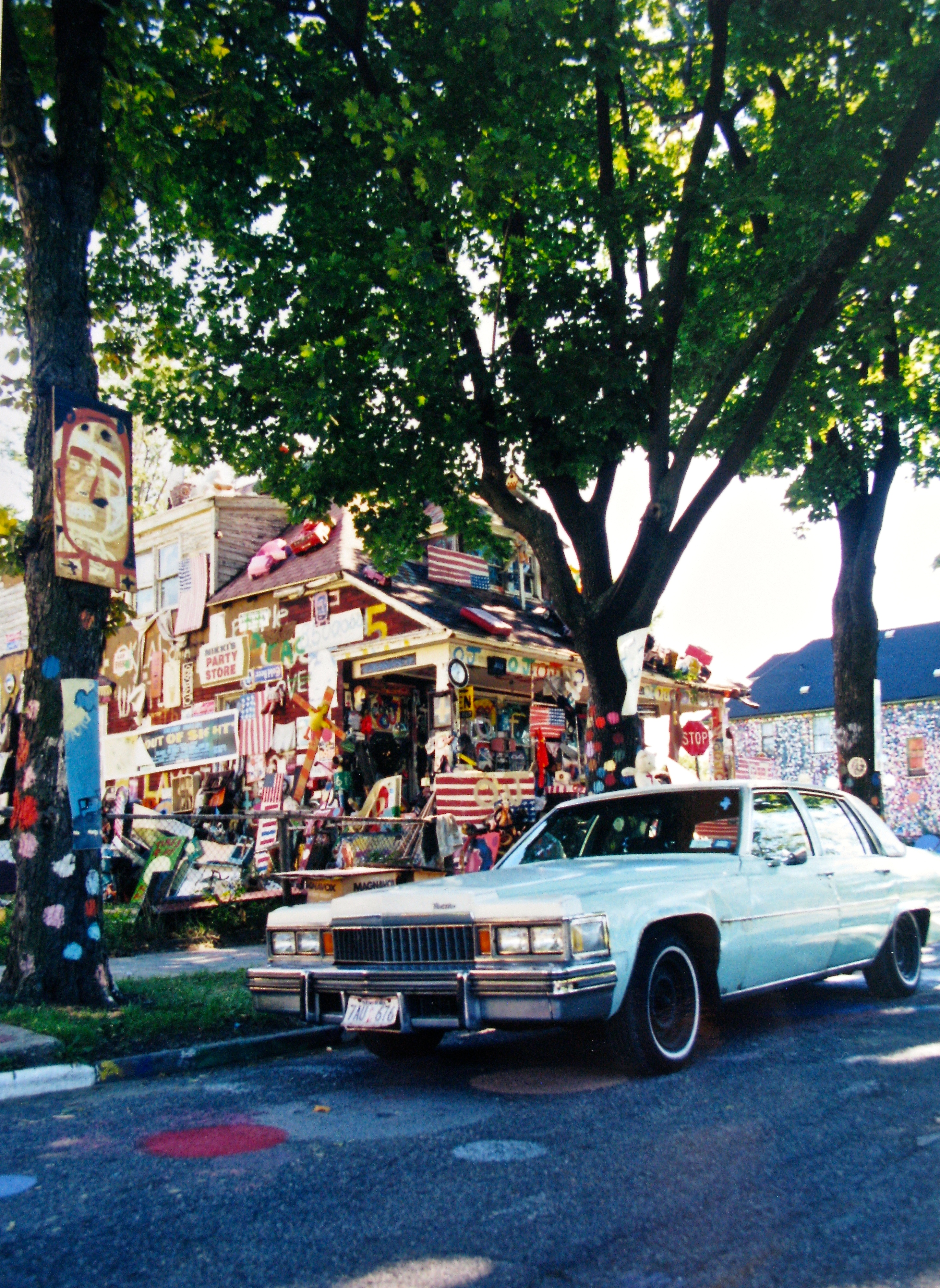 Cadillac at the Heidelberg Project
