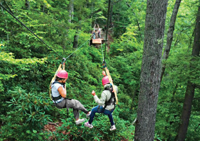 Sheri Hunter Ziplines
