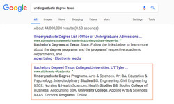 Robin Kelly - UT Tyler Top in Google