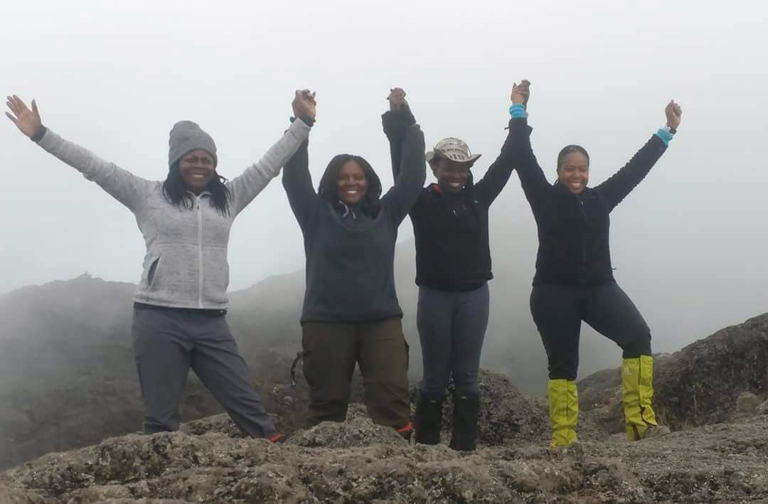 Sheri Hunter, Dare Divas Hike Kilimanjaro
