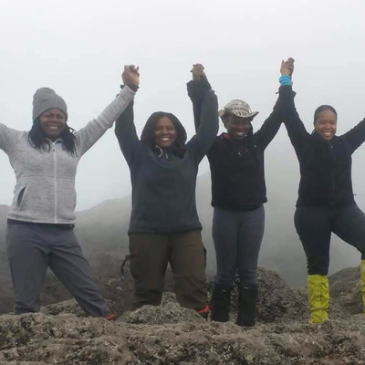 Sheri Hunter, Dare Divas Hike Kilimanjaro