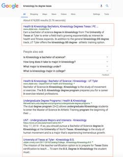Robin Kelly SEO Top in Google