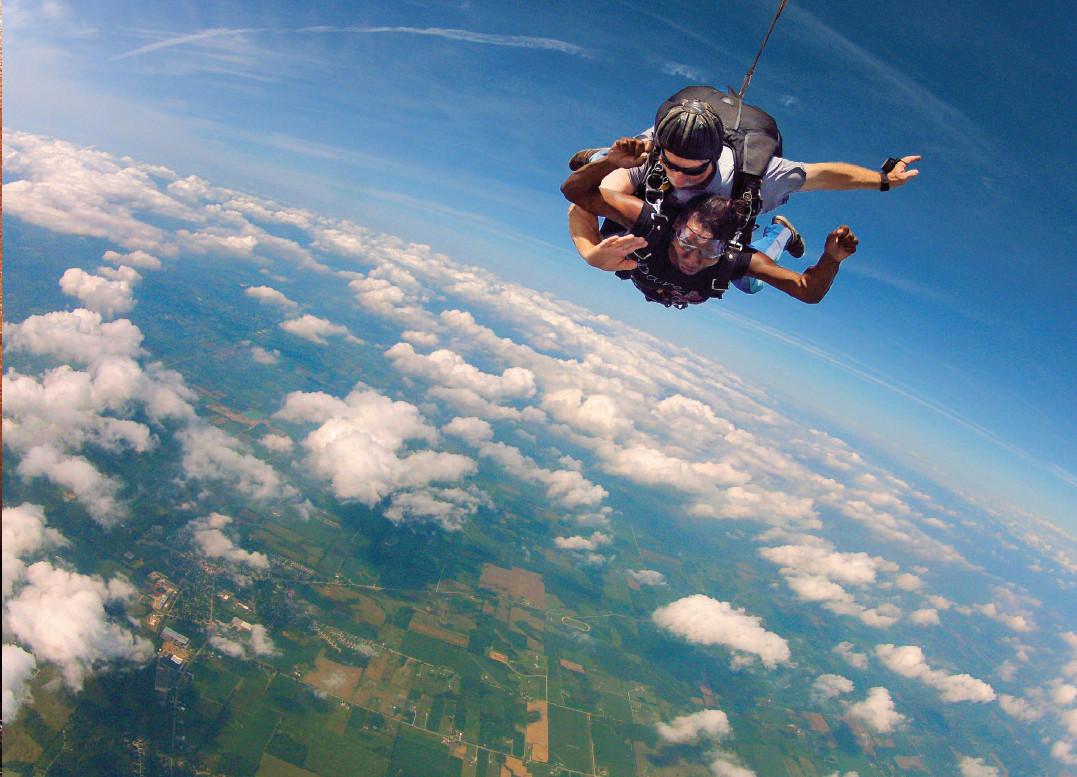 Sheri Hunter Skydiving