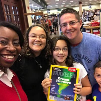 Sheri Hunter at Barnes and Noble