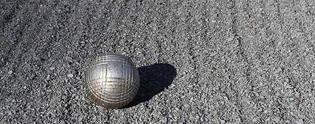 Petanque ball