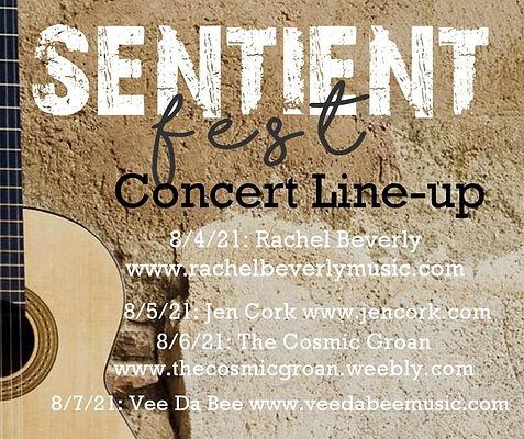 Sentient Fest Concert Line-Up
