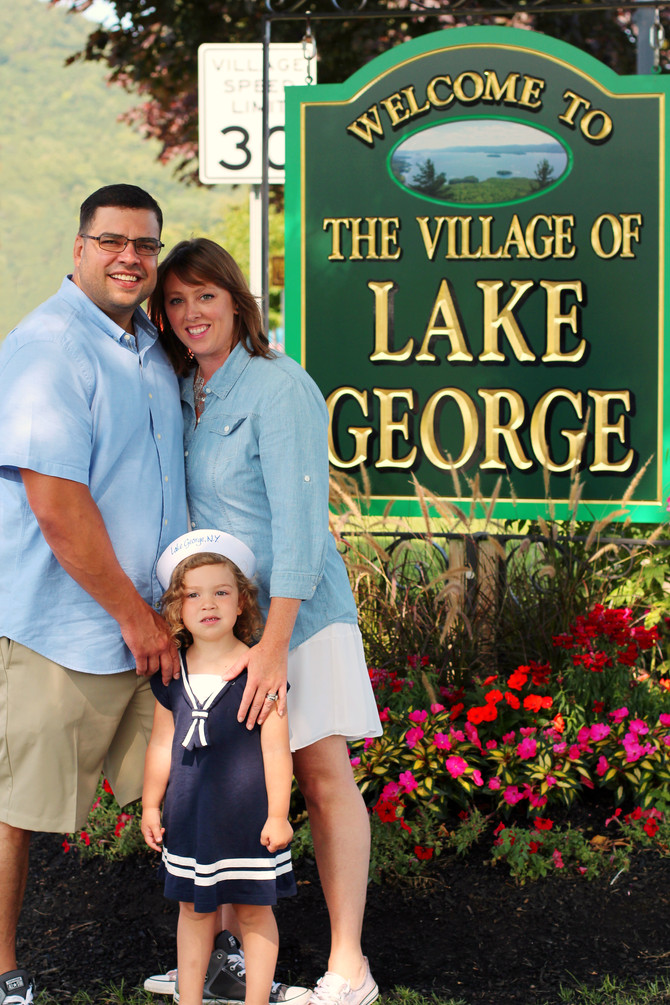 Lake George Family Portrait Session - August 26th, 2017