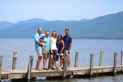 Lake George Family Portrait