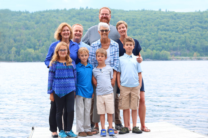Schroon Lake Family Portrait Session - August 7th, 2017