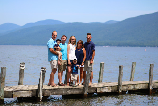 Blue Lagoon Family Portrait Session