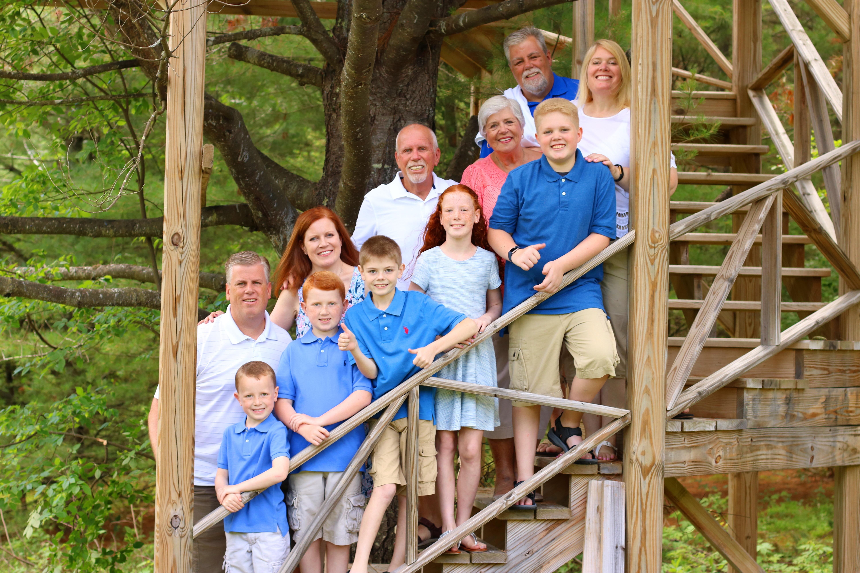 Adirondack Family Portrait