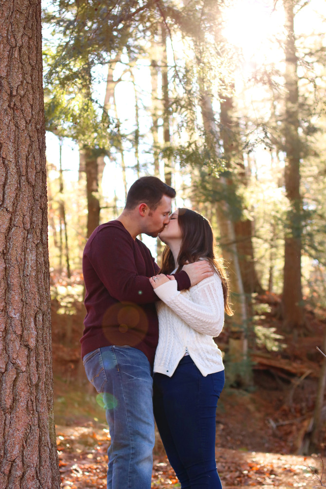 Kaitlin and Steve's Engagement Session - November 11th, 2017