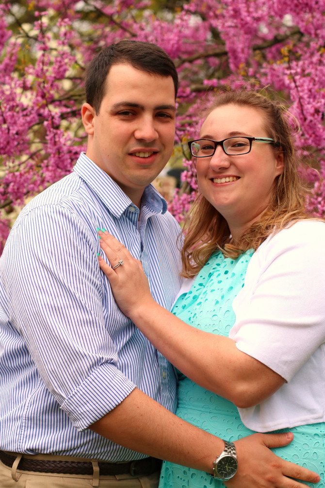 Rebecca and Nathaniel's Engagement - May 7th, 2017