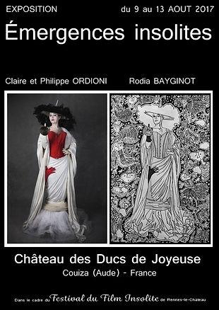 Du travail des photographes Claire et Philippe ORDIONI surviennent des œuvres de Rodia BAYGINOT, plasticienne, et inversement : un échange d'inspirations et d'influences ...