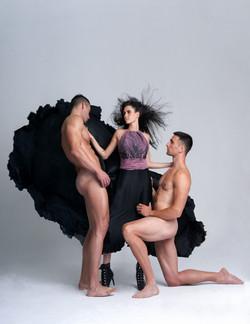 fashion editorial naked