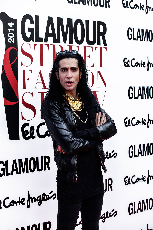Mario Vaquerizo Glamour Street Fashion El Corte Ingles . fotografo Carlos Aranguren