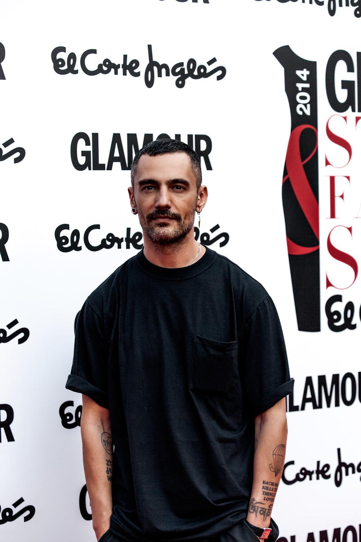 David Delfin Glamour por Carlos Aranguren