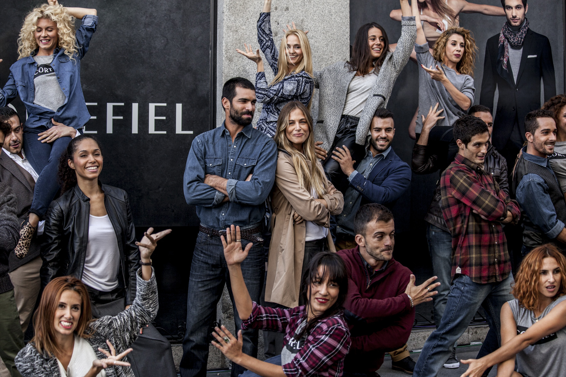 Cortefiel Flashmob