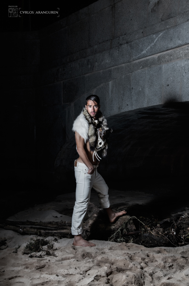 Sergio Carrallo Modelo Real Madrid