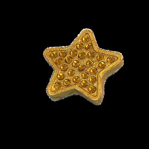 Gold Rhinestone Star