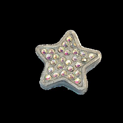 Silver Rhinestone Star
