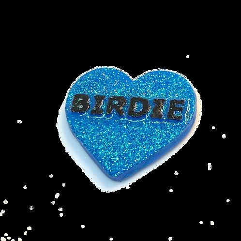 Blue Birdie Conversation Heart
