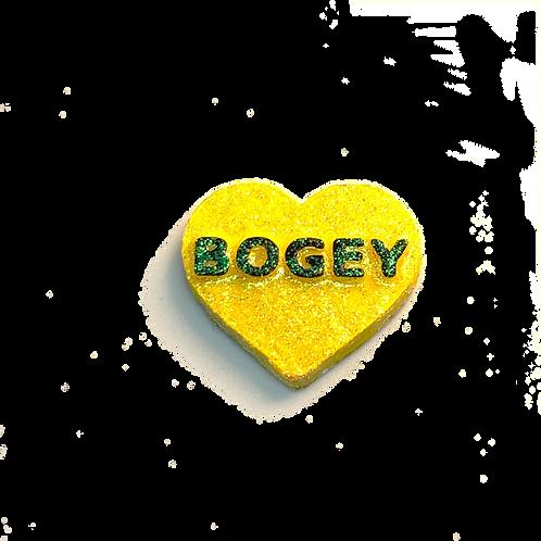 Yellow Bogey Conversation Heart