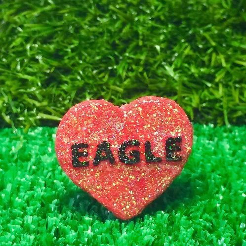 Eagle Conversation Heart