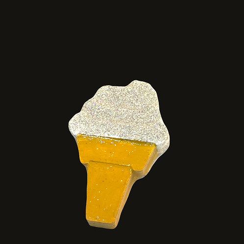 Silver Ice Cream Cone