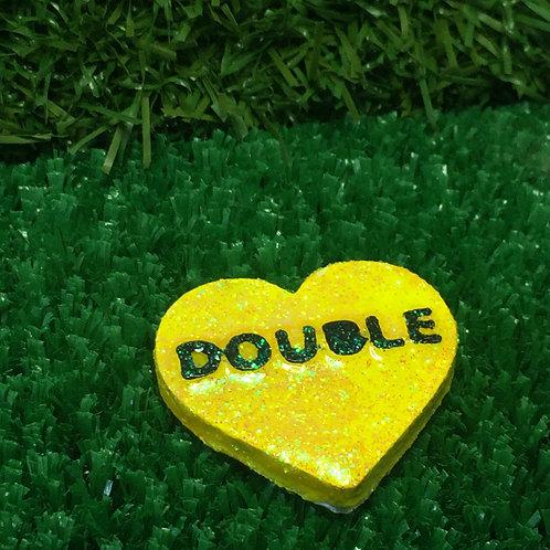 Yellow Double Conversation Heart