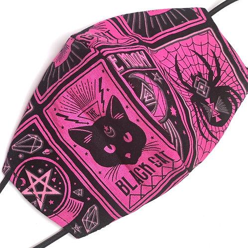 Toddler Reversible Cat Tarot Cards Pink